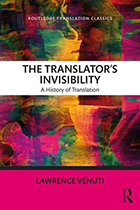 The Translator's Invisibility: A History of Translation (Paperback) book cover