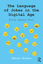 The Language of Jokes in the Digital Age: Viral Humour (Paperback) book cover
