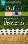 Cover for   The Oxford Dictionary of Proverbs