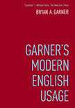 Cover for   Garners Modern English Usage