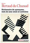 dictionnaire de synonymes