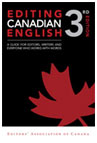 guide editing canadian english