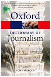 oxford dictionnary journalism
