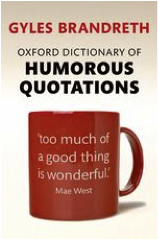 oxford dictionary humorous quotations