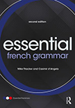 Essential French Grammar: 2nd Edition (Paperback) book cover